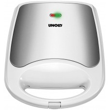 Unold 48480 Τοστιέρα ( Sandwich Toaster Quadro) Λευκή