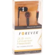 FOREVER 3.5MM UNIVERSAL HEADSET BLACK