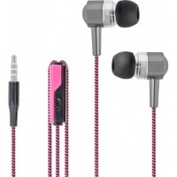 Forever Wired earphones SE-120 pink-black