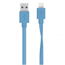 Belkin Flat Lightning to USB Cable 1,2 m blue
