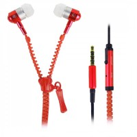 HANDSFREE FOREVER STREET MUSIC ΓΙΑ MP3/MP4/SMARTPHONES STEREO 3.5MM BLISTER - RED