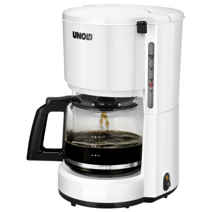 Unold Coffee Machine Compact  Καφετιέρα Φίλτρου Λευκή