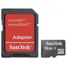 SanDisk Imaging microSDHC 16GB SDSDQB-016G-B35 Κάρτα Μνήμης