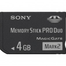 Sony Memory Stick Pro Duo Mark 2 4GB