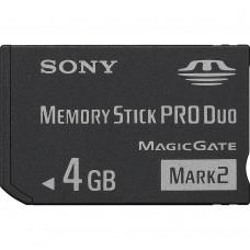 Sony Memory Stick Pro Duo Mark 2 4GB