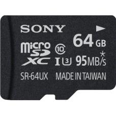 Sony microSDXC Expert 64GB Class 10 UHS-I U3 incl Adapter
