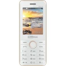 Maxcom MM136 Dual Sim, Mε Καμερα, Φακο και Ραδιοφωνο Ασπρο ΧΡΥΣΟ