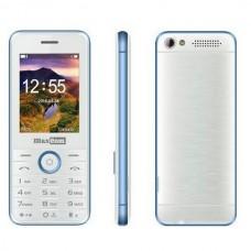Maxcom MM136 Dual Sim, Mε Καμερα, Φακο και Ραδιοφωνο Ασπρο Μπλε