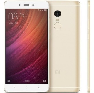 Xiaomi Redmi Note 4X Gold (Snapdragon) (32GB)ΕΛΛΗΝΙΚΟ ΜΕΝΟΥ