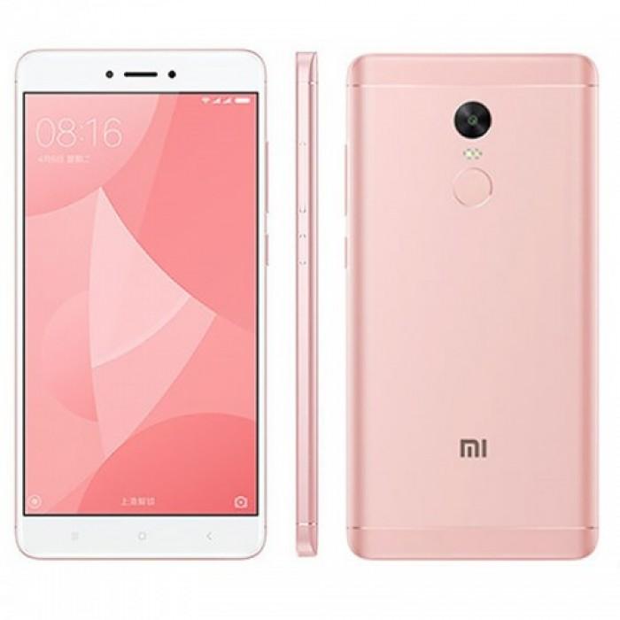 Xiaomi Redmi Note 4X Pink (Snapdragon) (32GB) ΕΛΛΗΝΙΚΟ ΜΕΝΟΥ+ΔΩΡΟ ΘΗΚΗ ΣΙΛΙΚΟΝΗΣ ΔΙΑΦΑΝΗ (EU ADAPTOR)