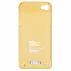 OEM Power Bank - Θήκη 1900mAh Για Αpple Iphone 4G/4S Πορτοκαλί