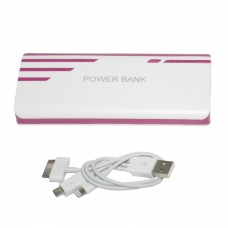 OEM Power Bank 20.000 mAh Universal Ροζ