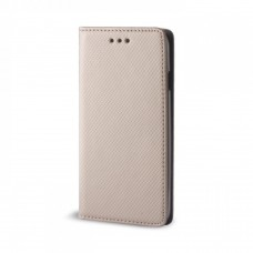 OEM Θήκη Βιβλίο Smart Magnet Για Huawei Ascend P8 Lite Χρυσή