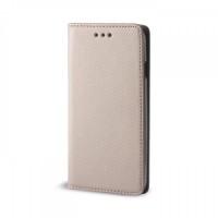 OEM Θήκη Βιβλίο Smart Magnet Για Huawei P8 Lite Χρυσή