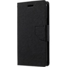 OEM Fancy Wallet Μαύρο (Huawei P8 Lite 2017)