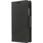 Fancy Wallet Δερματίνης Μαύρο (Galaxy A40)