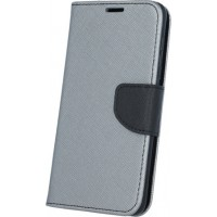 OEM Fancy Diary Steel / Black (Galaxy J3 2016)