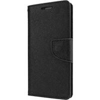 OEM Fancy Wallet Μαύρο (Galaxy A3 2017)