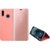 Clear View Book Ροζ Χρυσό (Xiaomi Redmi Note 7 / 7 Pro)