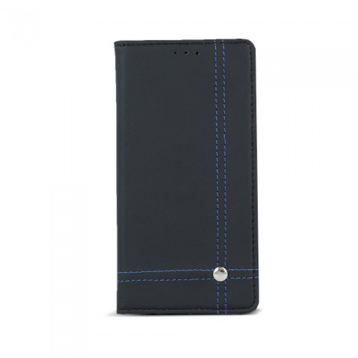 Smart Focus case for Xiaomi Redmi Note 4 black with blue thread