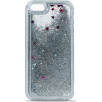 Liquid Glitter TPU Case for iPhone 6/6s silver