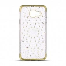 OEM 3D Θήκη Σιλικόνης Για Samsung Galaxy J510 (2016) Χρυσό Με Σχέδιο