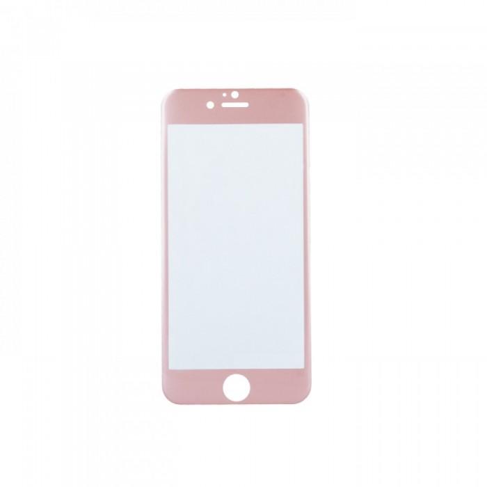 OEM Γυάλινη Προστασία Οθόνης Με Κούρμπα Για Apple IPhone 7G Plus Ροζ