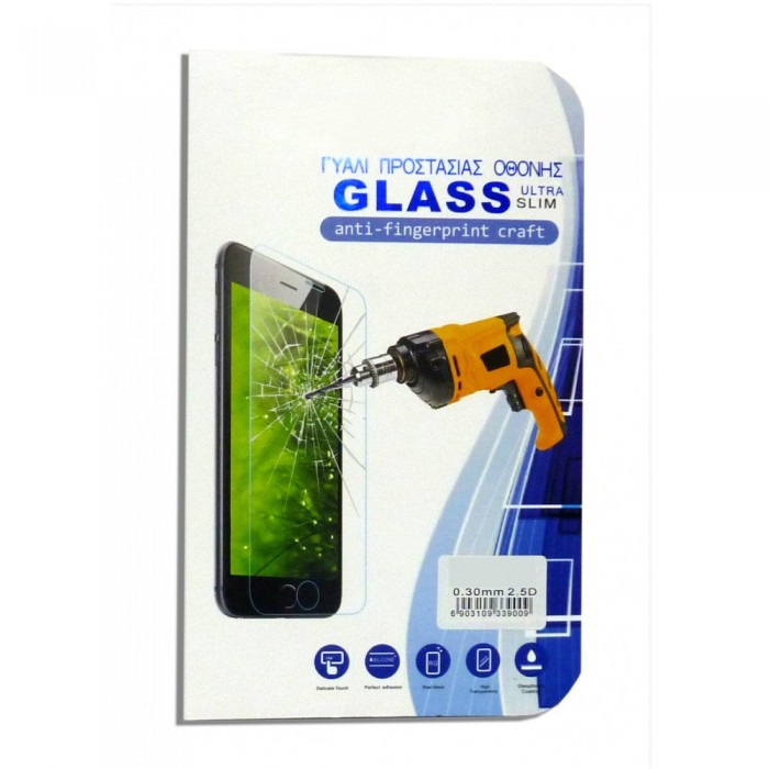 OEM Γυάλινη Προστασία Οθόνης 0.30mm/2.5D Για LG K5